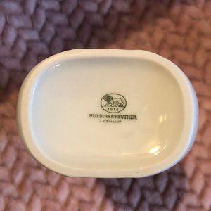 Hutschenreuther Accents - Hutschenreuther White Porcelain Vase Vintage